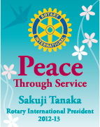 Peace Through Service Logo